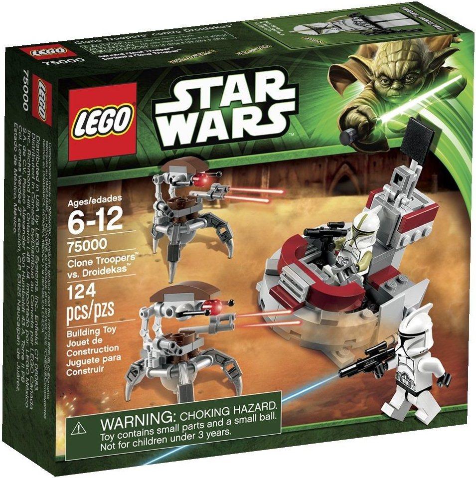 Star Wars Lego Toys : Clone troopers vs droidekas brickipedia fandom