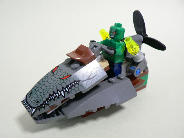 Killer Croc s Speedboat Lego Killer Croc 2013