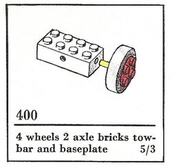 400-Small Wheels with Axles a
