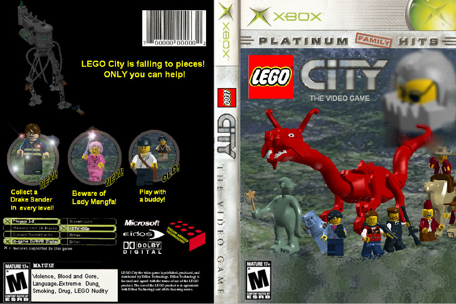 user blog lego lord lego city the video game. Black Bedroom Furniture Sets. Home Design Ideas