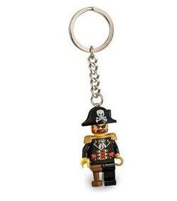 852544-Captain Brickbeard Key Chain
