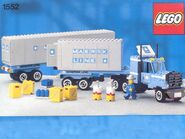 1552-Maersk Line Container Truck
