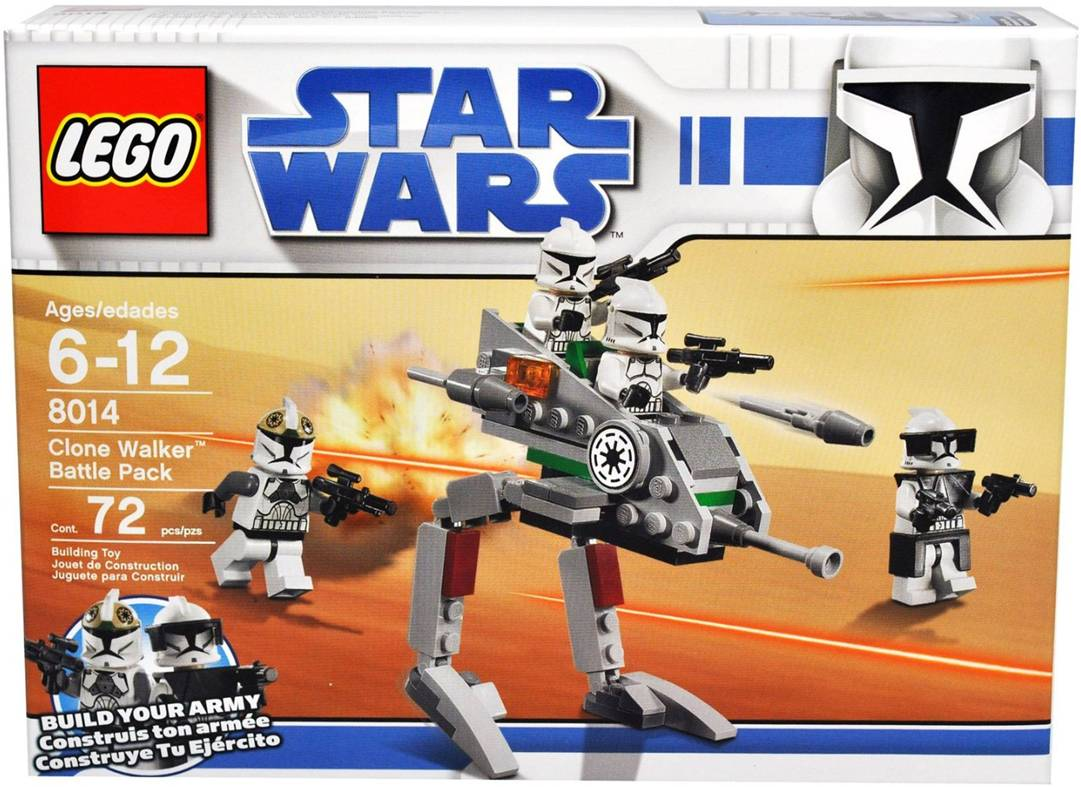 Clone Battle Pack Instructions Clone Walker Battle Pack