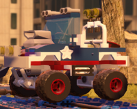 Captain America Monster Truck