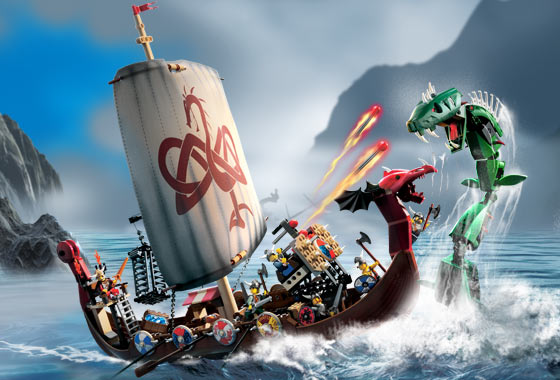 File:7018 Viking Ship challenges the Midgard Serpent.jpg