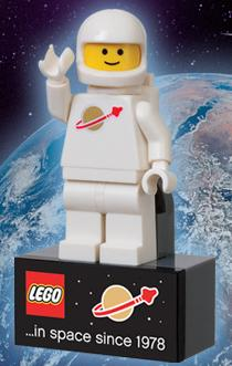 LEGO Space Magnet Promotion
