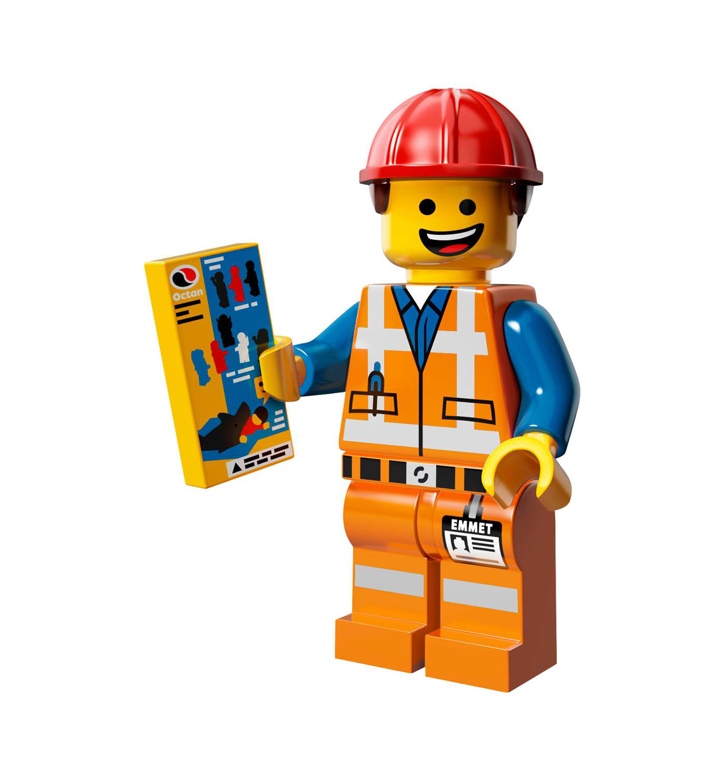 Lego Movie Toys : Image cmf emmet g brickipedia fandom powered by wikia