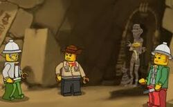 The restless mummy game front