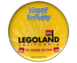 Pin49-Legoland California Happy Birthday