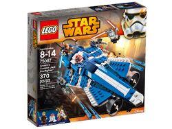 Lego Star Wars Anakin's Custom Jedi Starfighter