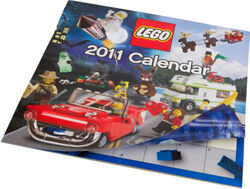 852997 LEGO 2011 US Calender
