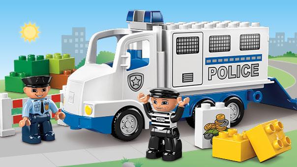 5680 le camion de police wiki lego fandom powered by wikia - Lego city camion police ...
