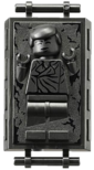 Lego Han Solo (Frozen in Carbonite)