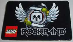 Pin50 Lego Rockband, San Diego Comic-Con 2009 Exclusive