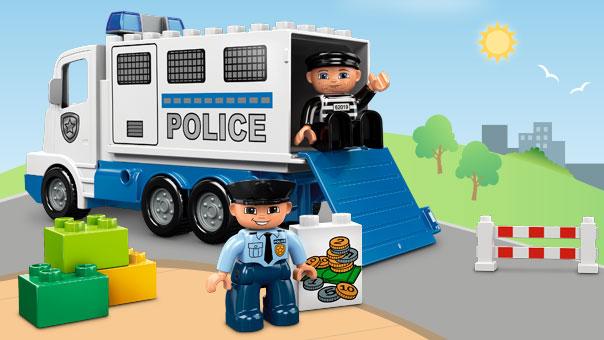 Fichier 5680 le camion de police wiki lego fandom powered by wikia - Lego camion police ...