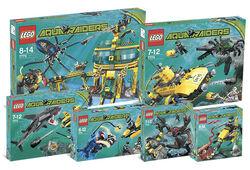 K7775 Complete Aqua Raiders Collection
