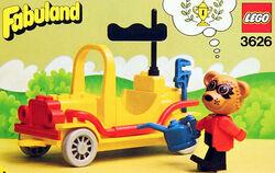 3626-Roger Raccoon's Sports Car