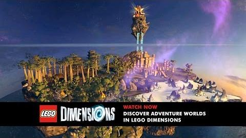 LEGO Dimensions Unlock and Explore Adventure Worlds