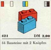 421-1 x 2 Bricks