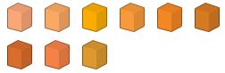 File:Orange Colour Chart.png