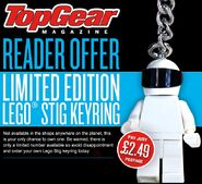 Stig Key Chain