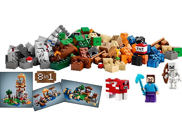 21116 minecraft bo te de construction de lego - Lego modeles de construction ...