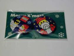 Pinset04 Santa 2 piece set