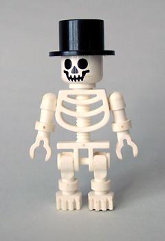 Skeleton Top Hat