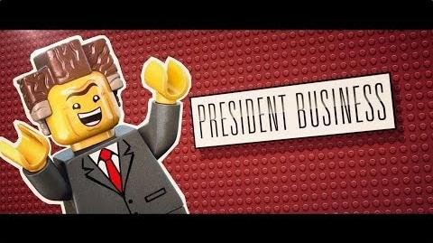 The LEGO® Movie - Meet President Business