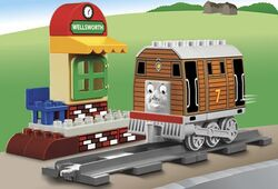 Toby the tram engine LEGO DUPLO