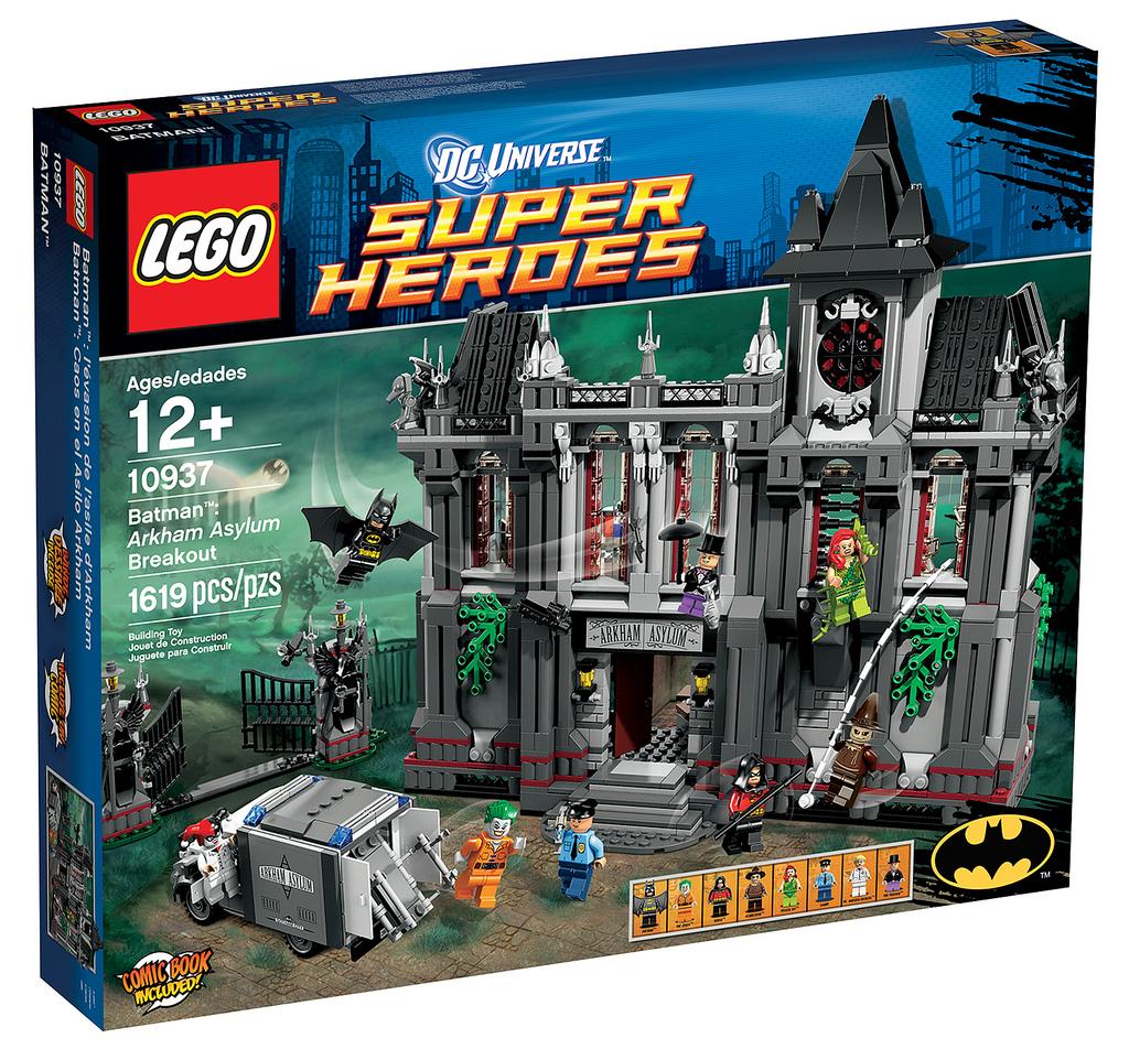 Comics Batman Arkham Asylum Batman Arkham Asylum Breakout