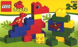 2922-Dinosaur Blocks