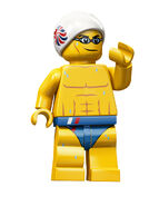 Team GB Swimmer