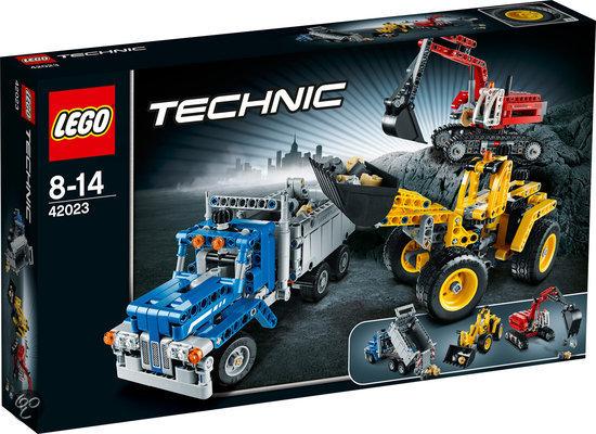 Lego Technic Building Instructions Construction Crew 42023