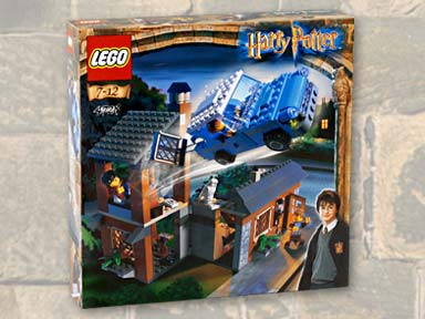 Image result for harry potter lego escape from privet drive