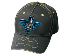 4494410 Cap, Batman Pattern with Logo on Visor
