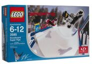 LEGO Sports Gravity Games Snowboard Super Pipe-1-