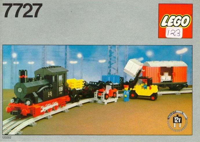 Lego Steam Train Set 7727 Freight Steam Train Set