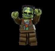 Crazy Scientists Monster CGI