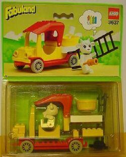 3637-Gertrude Goat's Painter's Truck
