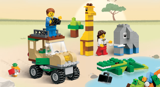 4637 set de construction safari wiki lego fandom. Black Bedroom Furniture Sets. Home Design Ideas