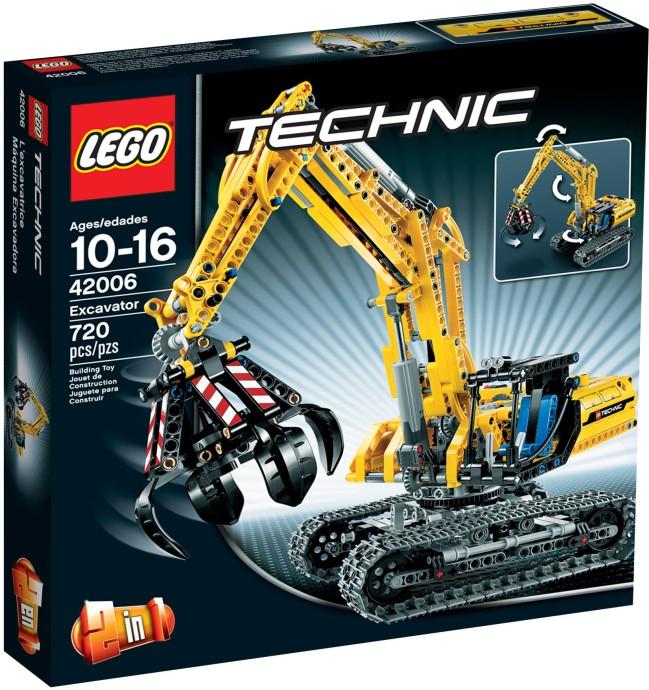 Amazon.com: LEGO Technic Excavator 42006: Toys & Games