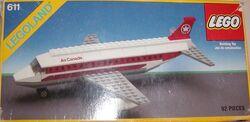 0611 Air Canada Jet Plane