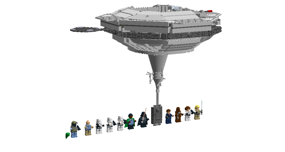 File Cloud City on new lego movie sets