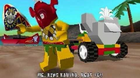 LEGO Racers - King Kahuka's Opening