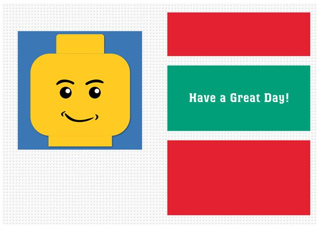 Hallmark Greeting Cards Brickipedia – Lego Birthday Card