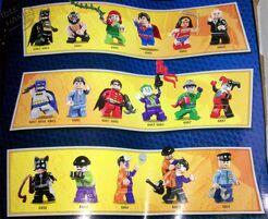 Lego superheroes minifigures