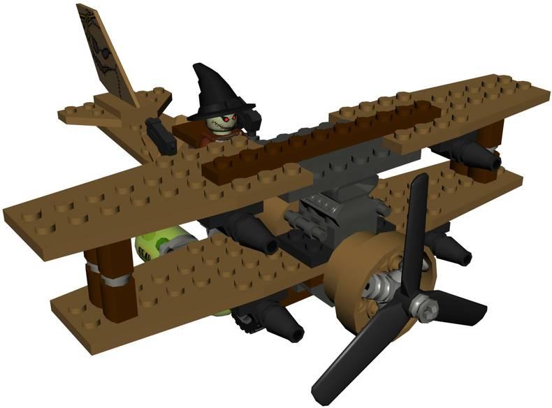 The Scarecrow's Biplane | LEGO Batman Wiki | FANDOM ...