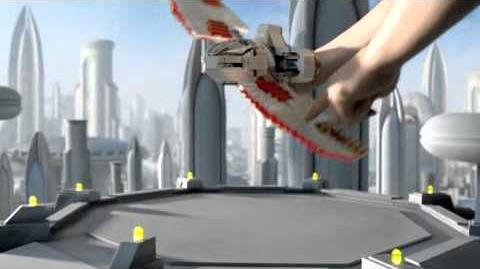 LEGO Star Wars T-6 Jedi Shuttle vs Bounty Hunter Assault Gunship Commercial (2011)