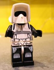 Lego star wars scout trooper2013